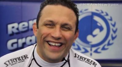 Renzo Gracie arrested